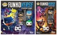 Funko Pop! Funkoverse Strategy Game - DC Comics Base Game & Expansion Bundle (Board Game)