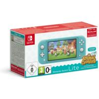 Nintendo - Switch Lite Console (Turquoise) Animal Crossing: New Horizons Pack + NSO 3 months (Limited)