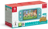 Nintendo - Switch Lite Console (Turquoise) Animal Crossing: New Horizons Pack + NSO 3 months (Limited) - Cover