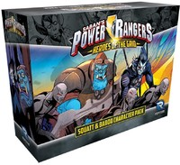 Power Rangers: Heroes of the Grid - Squatt & Baboo Character Pack (Miniatures)