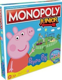 Monopoly Junior - Peppa Pig (Board Game) - Cover