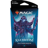 Magic: The Gathering - Kaldheim Theme Booster - Blue (Trading Card Game)