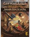 Gloomhaven: Jaws of the Lion - Removable Sticker Set & Map (Board Game)