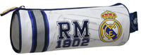 Real Madrid - Embroidered Cylindrical Pencil Case - Cover