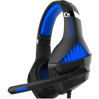 Microlab - Gaming Headset G6 Built-in microphone - Black/Blue