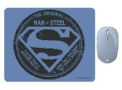 Microsoft - Bluetooth Mouse with DC Comics Superman Mouse Pad 1 - Pastel Blue