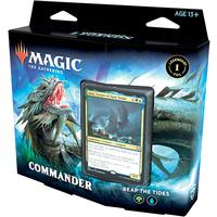 Magic: The Gathering - Commander Legends Commander Deck - Reap The Tides (Trading Card Game)
