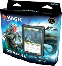 Magic: The Gathering - Commander Legends Commander Deck - Reap The Tides (Trading Card Game) - Cover
