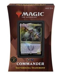 Magic: The Gathering - Strixhaven: School of Mages Commander Deck - Silverquill Statement (Trading Card Game) - Cover