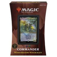 Magic: The Gathering - Strixhaven: School of Mages Commander Deck - Witherbloom Witchcraft (Trading Card Game)