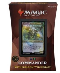 Magic: The Gathering - Strixhaven: School of Mages Commander Deck - Witherbloom Witchcraft (Trading Card Game) - Cover