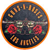 Guns N' Roses - Los Angeles Orange Printed Patch