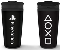 Playstation - Onyx Metal Travel Mug