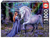 Educa - Bluebell Woods by Anne Stokes Puzzle (1000 Pieces)
