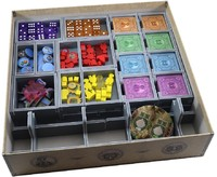 Folded Space - Board Game Box Insert - Rajas of the Ganges