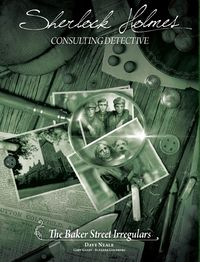 Sherlock Holmes Consulting Detective - The Baker Street Irregulars (Board Game) - Cover