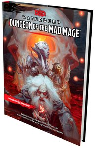 Dungeons & Dragons - Waterdeep: Dungeon of the Mad Mage (Role Playing Game) - Cover