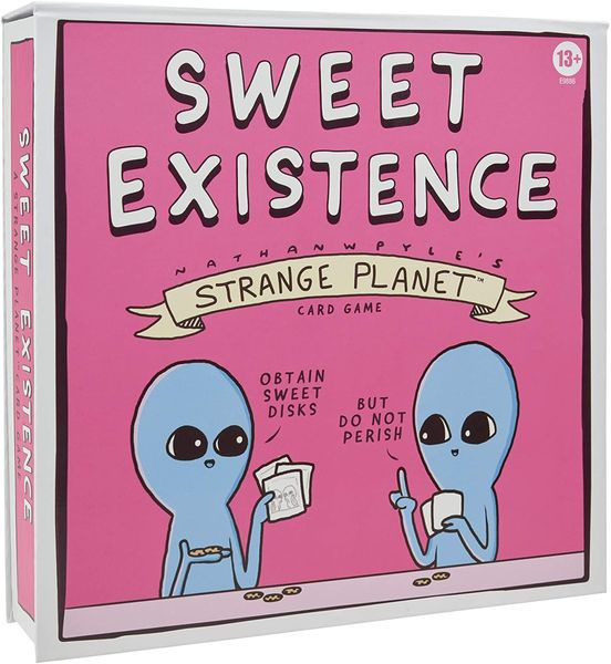 Sweet Existence: A Strange Planet Card Game (Party Game)