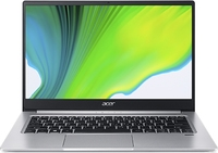 Acer Swift 3 SF314-59-55GU i5-1135G7 8GB RAM 512GB SSD BT + WiFi6 Win 10 Home 14 inch FHD Notebook - Silver (11th Gen) - Cover