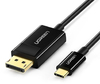 Ugreen USB-C to DisplayPort Male 4K@30Hz 1.5m Cable - Black