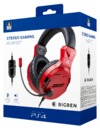 Nacon V3 Stereo Gaming Wired Headset - Magma Red (PS4)