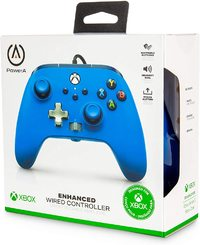 PowerA - Enhanced Wired Controller - Blue (Xbox One, Xbox Series X|S)