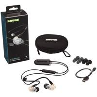 Shure SE215 Sound Isolating Bluetooth Earphones (Clear)