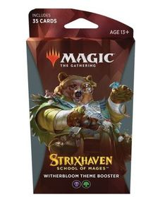 Magic: The Gathering - Strixhaven: School of Mages Theme Booster - Witherbloom (Trading Card Game) - Cover