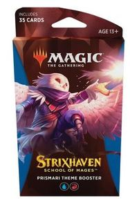 Magic: The Gathering - Strixhaven: School of Mages Theme Booster - Prismari (Trading Card Game) - Cover