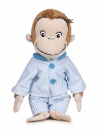 Curious George - Plush  in Pajamas