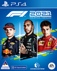 F1 2021 - The Official Videogame (PS4/PS5 Upgrade Available)