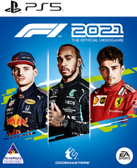 F1 2021 - The Official Videogame (PS5) - Cover