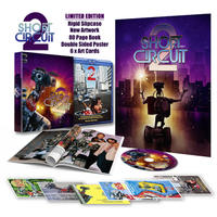 Short Circuit 2 Deluxe Limited Edition (Blu-ray)