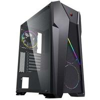 Raidmax - i328 ARGB ATX Gaming Case - Black