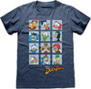 Ducktales - Squares Unisex T-Shirt - Blue (Small)