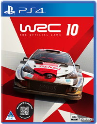 WRC 10 - World Rally Championship - The Official Game (PS4) - Cover