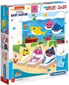 Clementoni - Baby Shark Puzzle (2x20 Pieces)