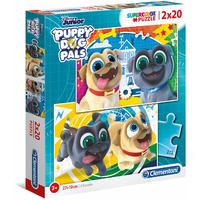 Clementoni - Puppy Dog Pals Puzzle (2x20 Pieces)