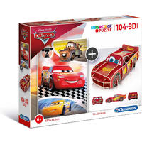 Clementoni - Disney Cars 3D Puzzle (104 Pieces)