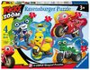 Ravensburger - Ricky Zoom - 4 Puzzles in a Box (10+12+14+16 Pieces)