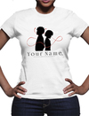 Your Name - Logo Ladies T-Shirt (Small)