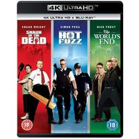 Shaun of the Dead / Hot Fuzz / The Worlds End (4K Ultra HD + Blu-ray)