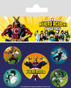 My Hero Academia - Official Pin Badges