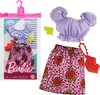 Barbie - Complete Look Fashion - Top & Rose Skirt