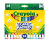 Crayola - Washable Broad Line Markers (Pack of 24)