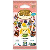 Animal Crossing: Happy Home Designer amiibo Series #4 (3 Card Pack)