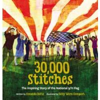 30000 Stitches - Amanda Davis (Hardcover)
