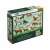 Editions Insight - Field Guide to Magnificent Horses Puzzle (500 Pieces)