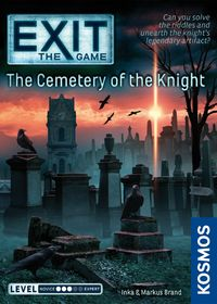 EXIT: The Game - The Cemetery of the Knight (Board Game)