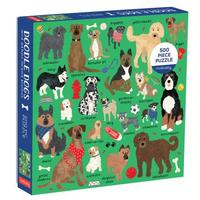 Mudpuppy - Doodle Dog & Other Mixed Breeds Puzzle (500 Pieces)